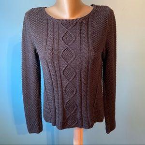 Ralph Lauren denim & supply cable knit sweater